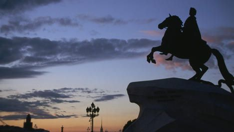 After reading 'The Bronze Horseman' I find myself strangely drawn to wanting to visit St Petersburg (formerly Leningrad) in the summer, and experiencing the White Nights...