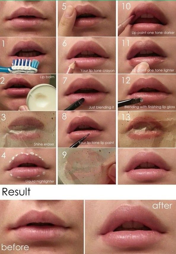 How to Make Your Lips Look Fuller-13 Steps
