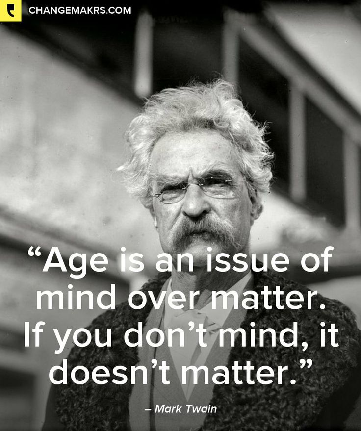 "Mark Twain quote: "" Age is an issue of mind over matter. If you don't mind, it doesn't matter."" What does this have to do with EASTER excitement? Read especially end of First Corinthians 15. -DdO:) - http://www.pinterest.com/DianaDeeOsborne/easters-exciting-expectations/ - Why do we care about number of days behind us when WITH GOD we have infinite number of days AHEAD? Thanking Jesus.. without His Love & when-we-humbly-ask forgiveness, we'd get the punishment we deserve for our selfishness."