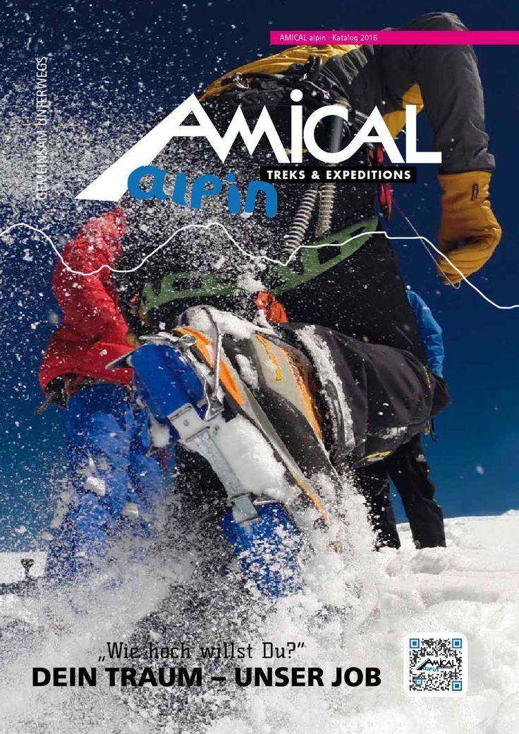 AMICAL alpin Bergschulprogramm 2016 von AMICAL alpin