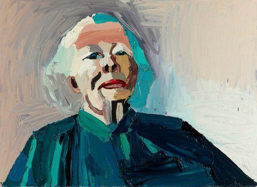 """""""Beryl,"""" Ben Quilty (Australian, b. 1973), Oil on canvas, 2005"""