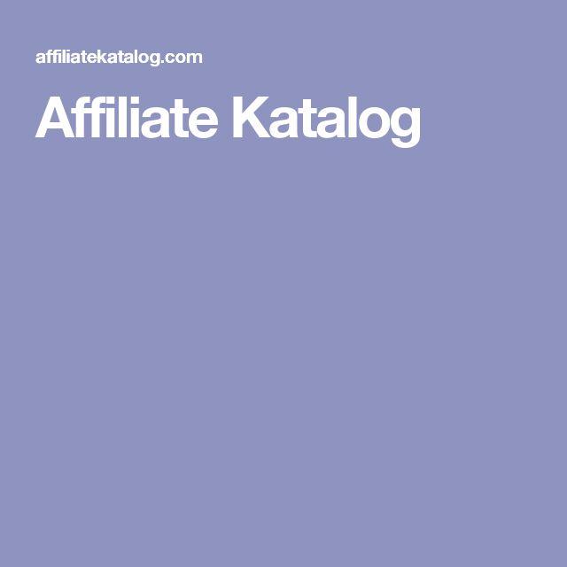 Affiliate Katalog