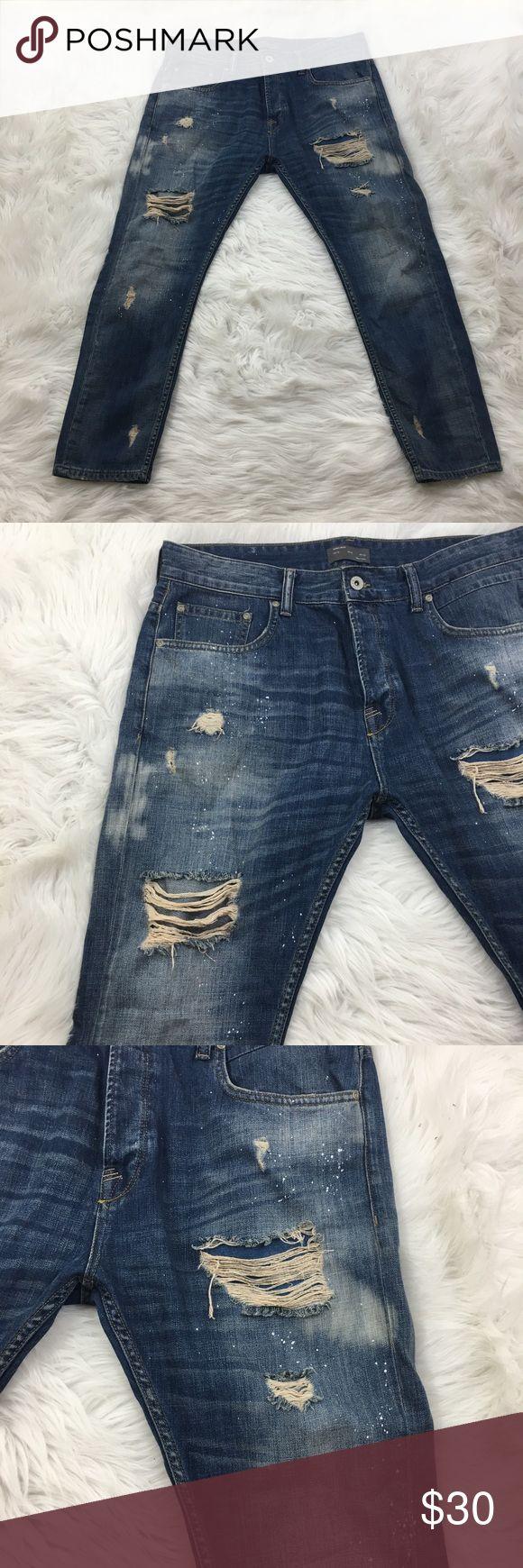 Mens jeans design legends jeans - Zara Man Jeans 36 X 28
