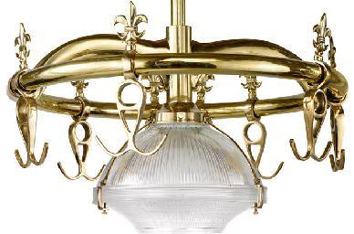 Howard Kaplan Designs - brass pot rack - this would be ...