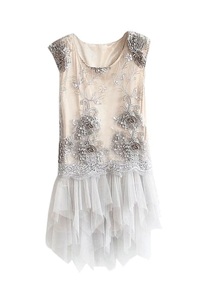 Our stunning white sequin dress will definitely make sure you will be noticed!