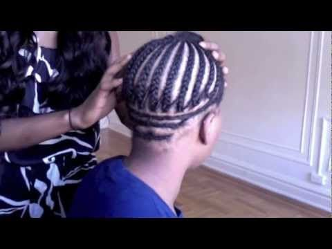 This a great braiding pattern for a sew in bob.