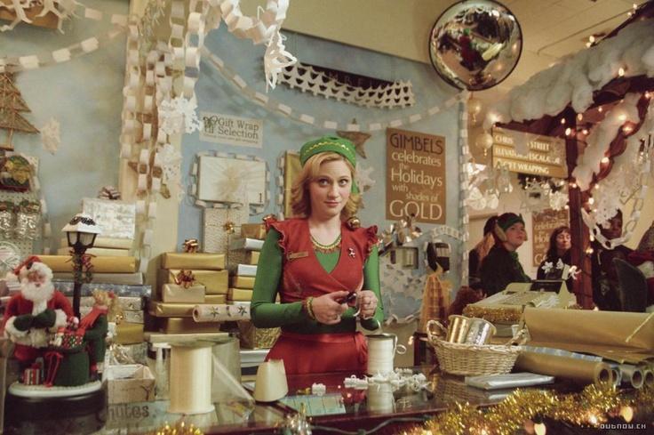 Zooey Deschanel  in Elf  best christmas movie!   im in the christmas mood :)