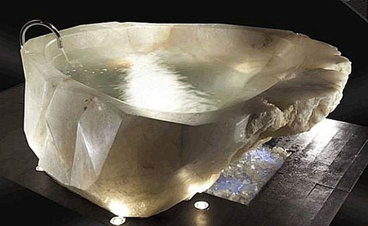Uploaded by Arleta Vasquez at Wednesday, May 1, 2013, the marvelous Amazing Tub Design From Natural Stones image above is one of the few mar...