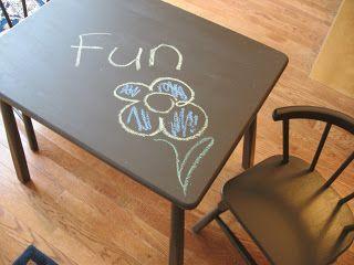 Homemade Chalkboard Paint- Tutorial | Raising Olives
