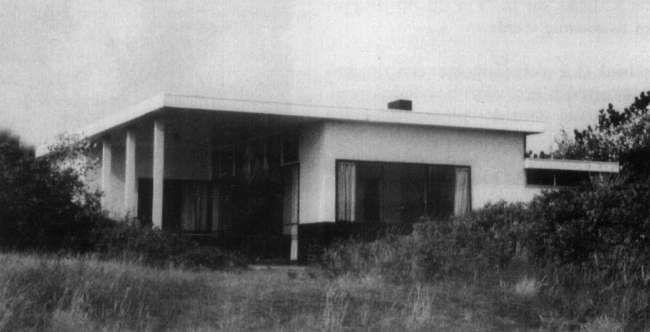 Rietveld zomerhuis - Petten - 1939 Opdrachtgever: Jan Brandt Corstius