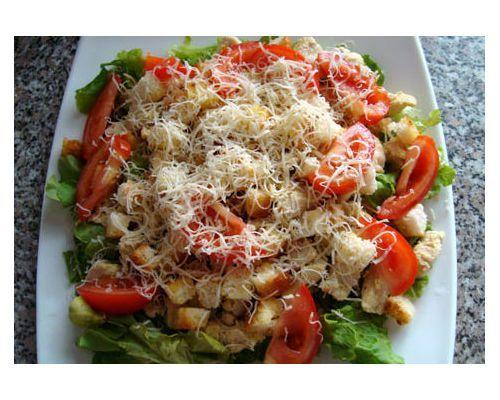 Как приготовить салат цезарь с криветками