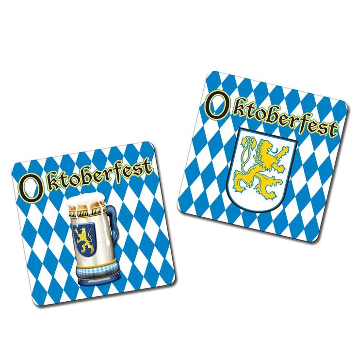 Let's Party With Balloons - Oktoberfest Drink Coasters, $10.00 (http://www.letspartywithballoons.com.au/oktoberfest-drink-coasters/)