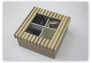 Cajas de te - Decoupage