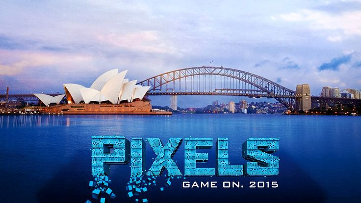 New PIXELS Trailer Review AMC Movie News YouTube