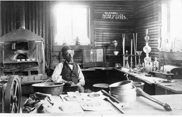 Assay Office ~ Cripple Creek Colorado ~ 1890