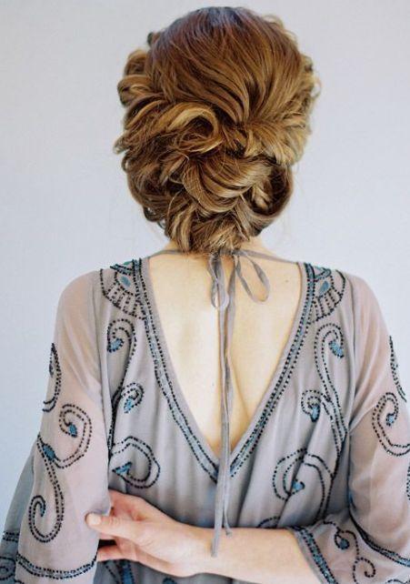 wedding updo hairstyle via Hair and Makeup by Steph 3 - Deer Pearl Flowers / www...
