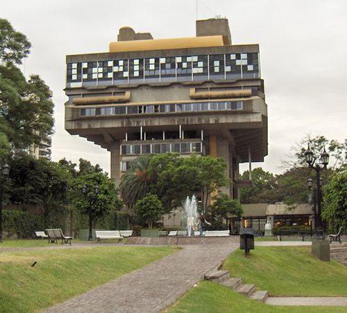 Biblioteca Nacional de la Republica Argentina by Clorindo Testa