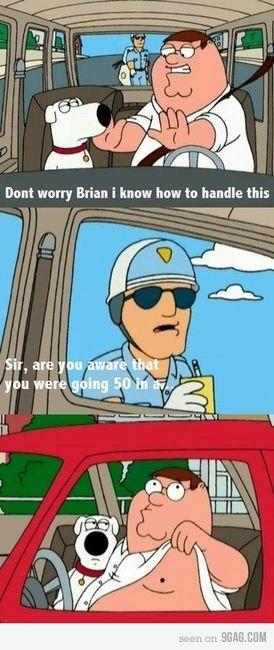 Haha, classic Family Guy moment