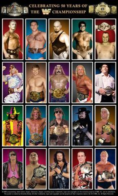 Classic/ Golden Era WWE Champions Poster by Chirantha on DeviantArt