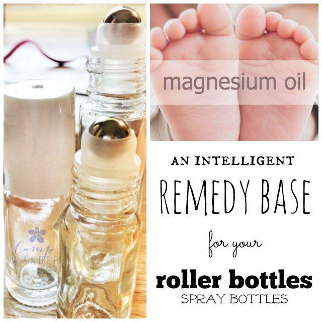 Magnesium Carrier Oil for Essential Oil Use {amazing deodorant too!)