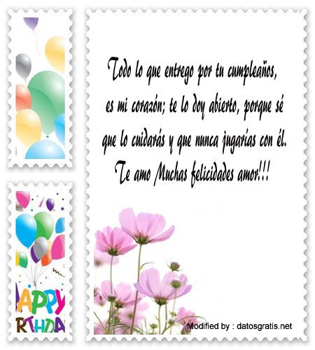 dedicatorias de cumpleaños para mi enamorado,descargar frases bonitas de cumpleaños para mi enamorado: http://www.datosgratis.net/sms-de-cumpleanos-para-mi-amor/