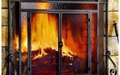 Fireplace Screen Doors Glass Doors Gallery