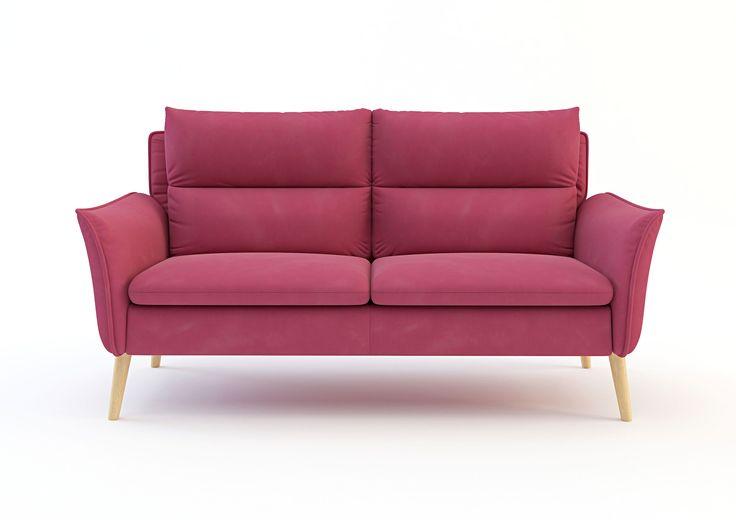 SOFA INKA Trzyosobowa sofa Inka pochodzi z serii o tej samej nazwie nawiązującej do modnego stylu retro. W skład kolekcji wchodzą dwie sofy, pufa oraz trzy warianty foteli. Oryginalna sofabędzie wspaniałą ozdobą każdego salonu. Posiada profilowane oparciai ciekawie wygięteboki co sprowadza się do większej wygody. Została przeszyta nowoczesną tkaniną Novara, która jest trwalsza i cechuje się łatwością w utrzymaniu czystości. Drewniane nóżki w dębie naturalnym doskonale pasują do sofy…