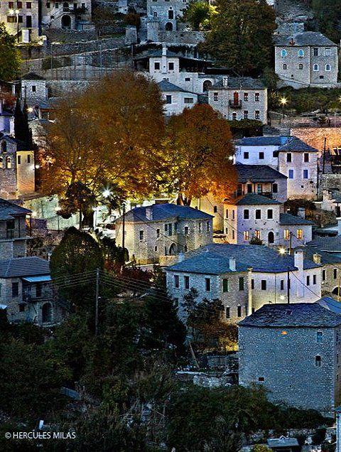 Syrrako village at Tzoumerka mountains, Epirus