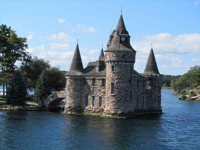 Boldt Castle on Thousand Islands - Gananoque, Ontario  I was here :)