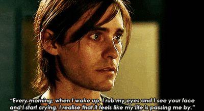 Heartbreaking   Jared leto, Mr nobody, Mr nobody quotes