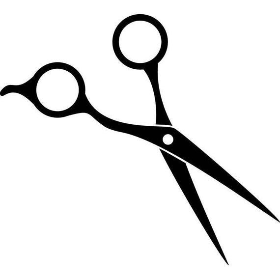 Scissors Hair Accessories Barber Stylish Barbershop Fashion Etsy Hair Scissor Tattoos Hair Scissors Scissors