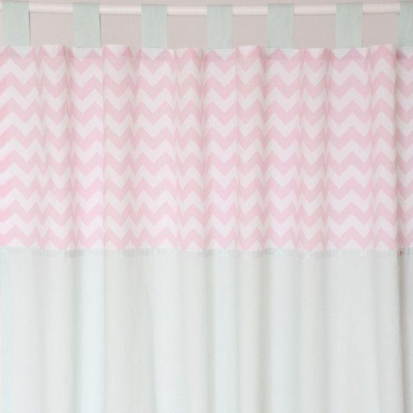 Gardinen Vorhange Vorhang Gardinen Chevron Mint Rosa 150 X 240