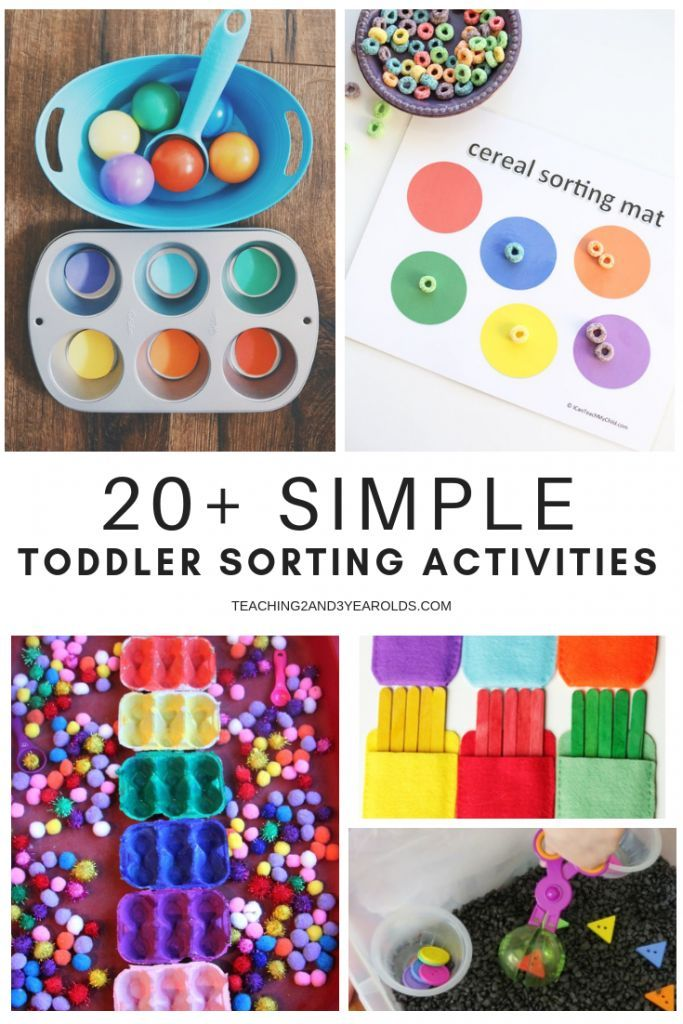 c89ca23fe This collection of simple toddler sorting activities are a fun addition to  the natural sorting they do in their everyday life. A fun way to introduce  math ...