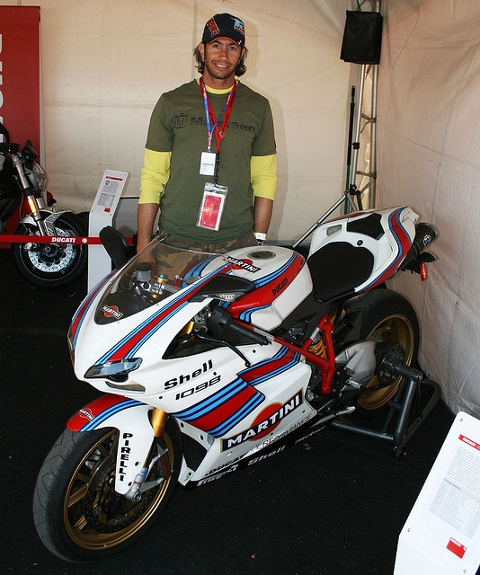 Martini Ducati 1098 by Element Racer, via Flickr