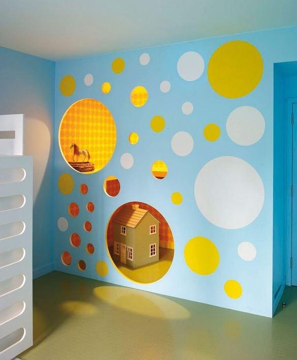 Espace de jeux pour enfant // www.journal-du-design.fr/index.php/design/bohemian-appartment-par-incorporated-architecture-design-25982/