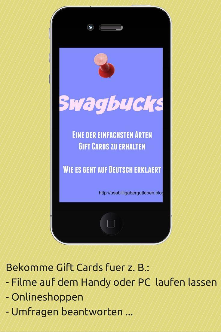 Bis Ende Juni 2016 starten neue Mitglieder mit dem Code steffiusa und meinem Referrallink mit 70 SB. Ab 300 SB kannst du eine $3 Amazon Gift Card bestellen. Ich kann Swagbucks wirklich empfehlen. Du kannst Swagbucks aus den USA und aus Deutschland nutzen. Lese hier wie du mit Swagbucks Gift Cards erhalten kannst.