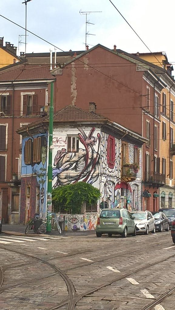 554 best murales a Milano images on Pinterest | Urban art, Milan and ...
