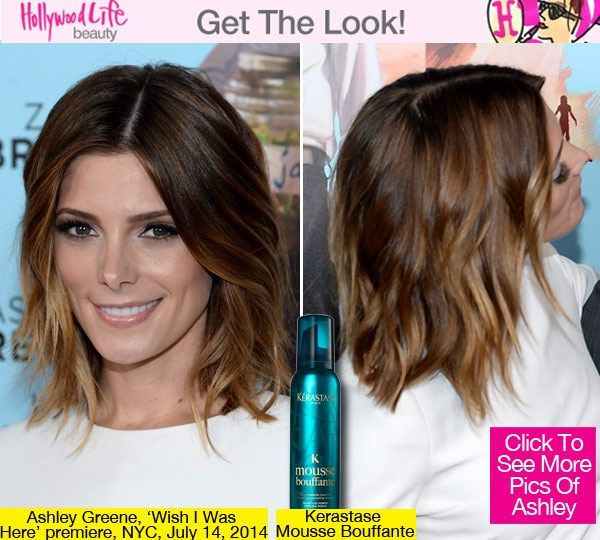 Ashley looked stunning at the New York premiere of her new film 'Wish I Was Here,' held at the AMC Lincoln Square Theater on July 14. We spoke to her hairstylist -- find out how to copy her exact look below!