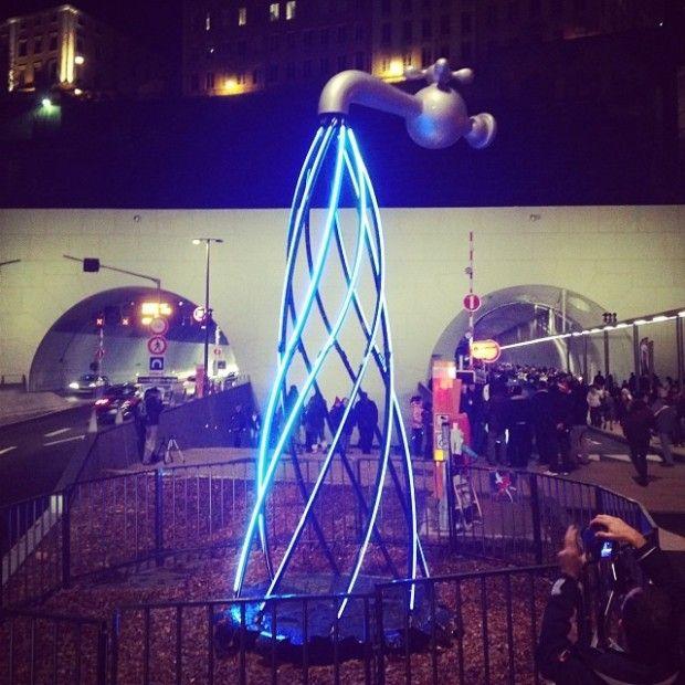 Surreal Light Installations at Lyon's Festival of Lights