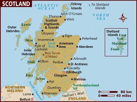 work in Scotland