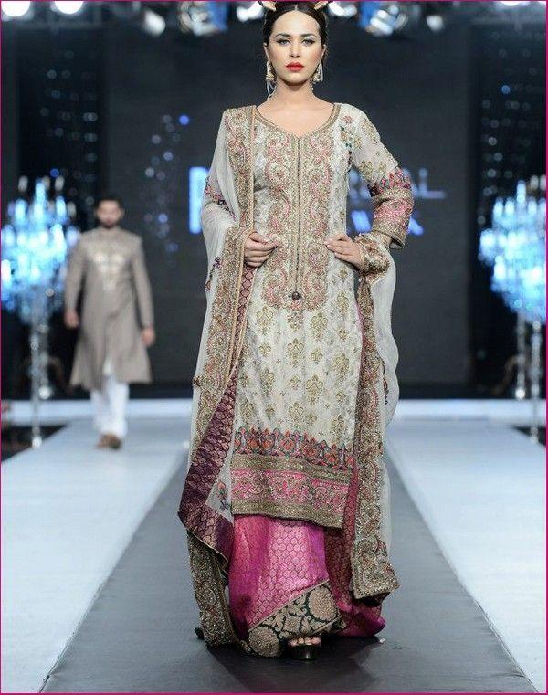 Fahad Hussayn 'Laaj Nagar' Bridal Collection at the Bridal Week 2012-15