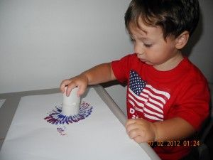 Independence Day Craft for Kids: Spectacular Fireworks
