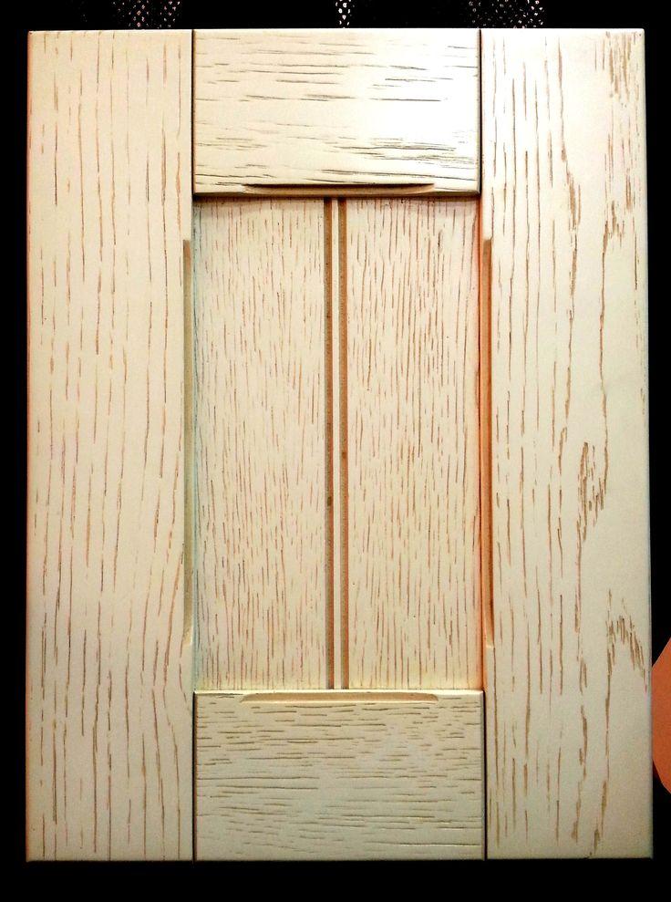 Puerta de cocina r stica con marco y plaf n roble for Puertas de roble