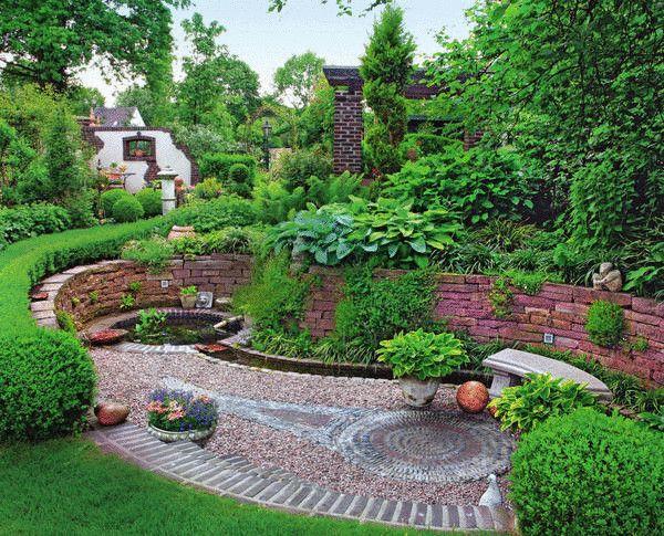 Неповторимые садовые дорожки из камня своими руками