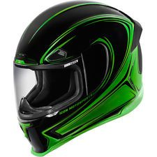 Icon Airframe Pro Halo Full Face Motorcycle Helmet - Choose Size and Color