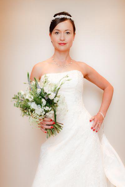 Jess Wearing Maggie Sottero Brian Wilson Edinburgh Wedding Photographer
