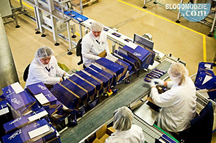 Fabryka Wedla w Warszawie - Blog o modzie http://www.blogomodzie.com/zwiedzanie-fabryki-wedla-przepis-czekolade/
