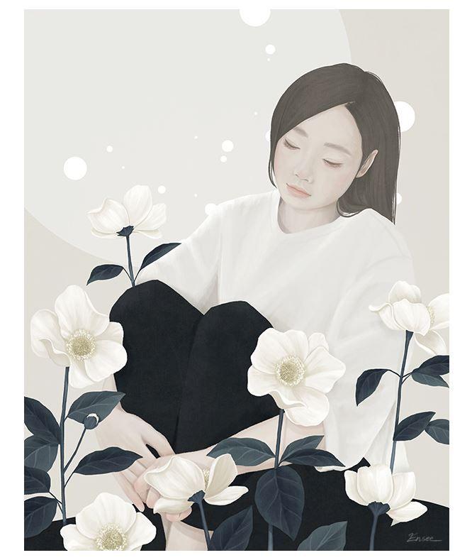 Цифровое искусство Ми-Кайунг Чой
