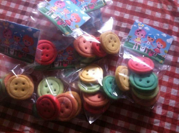 Bolachas botões lallalopsy