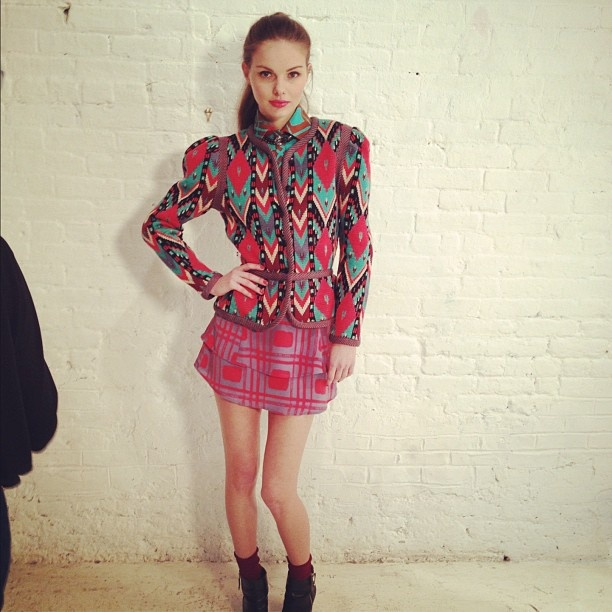 Aztec Jacket Hunter Dixon Preview Fall 12 This Is Amazing